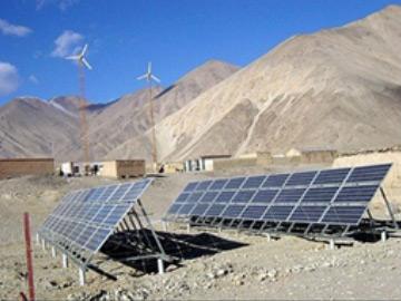 Generador electrico solar