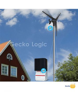 Aerogenerador - Turbina Eolica