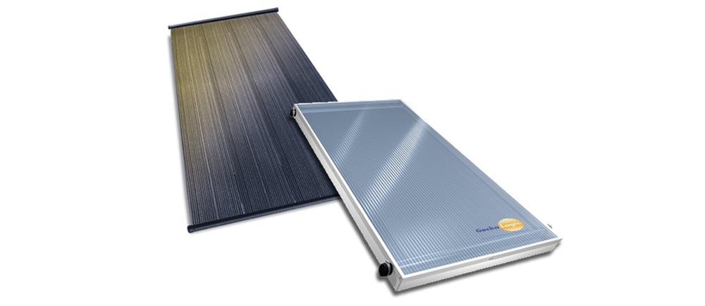 Calentador Solar para agua tipo industrial