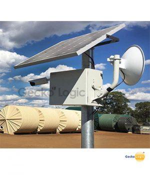 Camara de seguridad solar