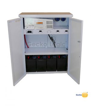 Banco de baterías de respaldo