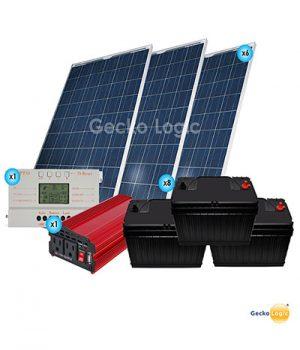 Kit Solar Casa de Campo