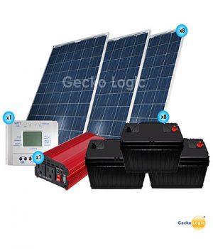 Kit Solar Comfort total