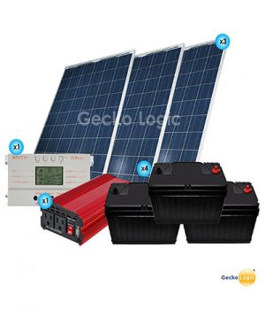 Kit Solar Fin de Semana