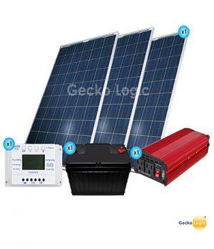 Equipo solar para Iluminación básica