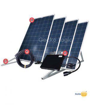 Equipo solar basico en México