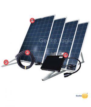 Equipo solar avanzado en México